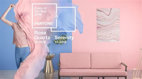 2016 color of the year pantone s 2016 shade of the yr rose quartz and serenity