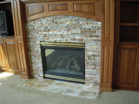 gas fireplace surround tile contractor creative