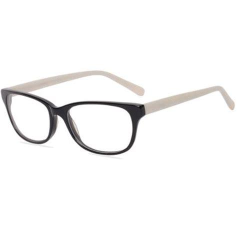 contour womens prescription glasses fm14115 black pearl