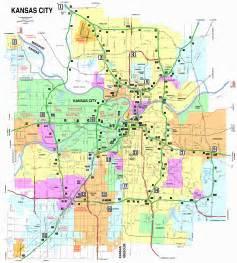 kansas city missouri city map kansas city missouri mappery
