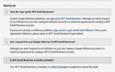 adsense dfp dengan dfp account hosted google adsense bisa til di