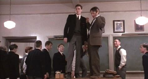 Pictures From Dead Poets Society Dead Poets Society Standing On Desks