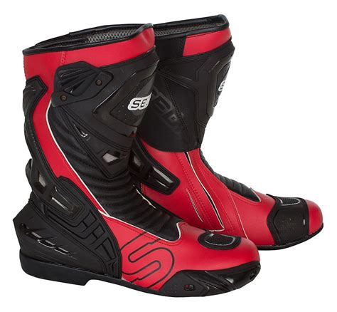 red motocross boots sedici ultimo motorcycle boots men s red 12 45 ebay