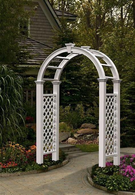 Arch Vs Sanaa S White Garden New Arbors Decorative Nantucket Legacy Vinyl