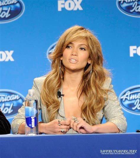Jlo Psyched About American Idol by American Idol The World Of
