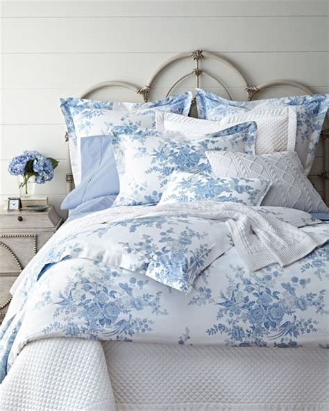Ralph Blue Comforter by Ralph Home Dauphine Bedding