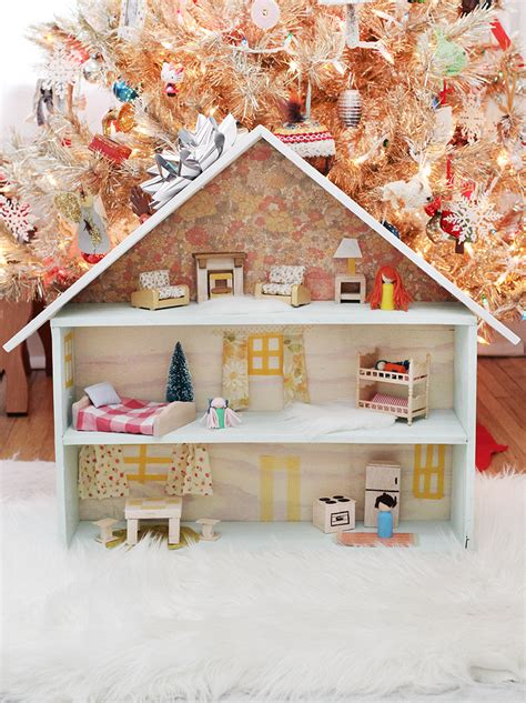 homemade doll house 50 diy gift ideas a beautiful mess
