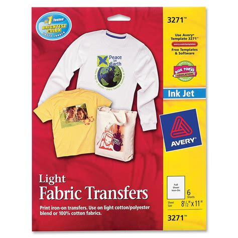 avery iron on transfers how to avery iron on transfer ld products
