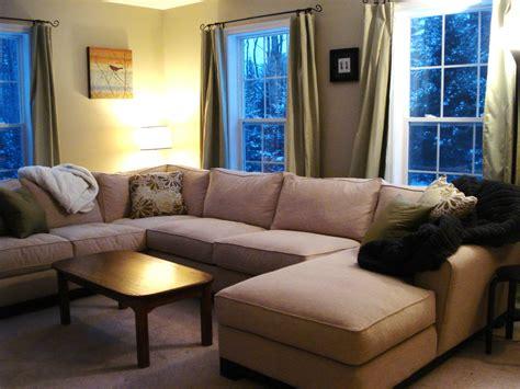 small u shaped sectional sofa u shaped sectional with chaise design homesfeed