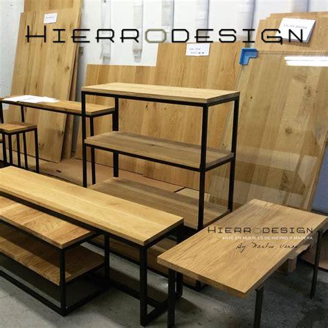 muebles de madera y hierro nuestras obras hierro design fabrica de muebles en