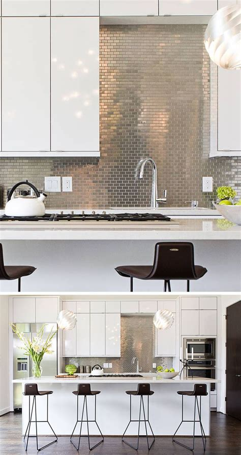backsplash panels kitchen best 25 stainless steel backsplash tiles ideas on