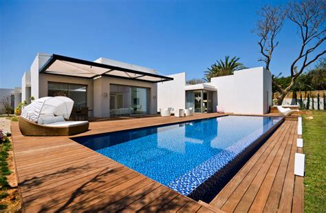 Houzz Wall Sconces A House At Caesarea Architects V Studio Modern Pool