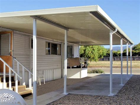 Aluminum Awnings For Mobile Homes by Tucson Mobile Home Awnings Call Us For Your Awning 520