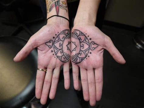 geometric hand tattoo hand geometric tattoo by earth gasper tattoo