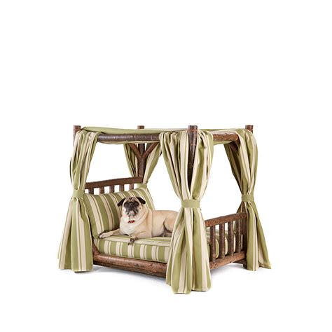 dog canopy bed rustic dog canopy bed la lune collection
