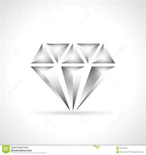home design free diamonds diamond icon design stock vector image 39744254