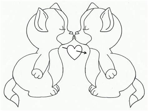 imagenes de personas lindas para dibujar gatos bebes tiernos para colorear