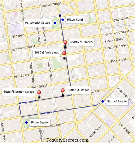 new year parade map sf new year parade route for 2017 best viewing spots