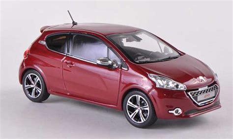 peugeot 208 red peugeot 208 gti red 3 turer 2012 norev diecast model car 1