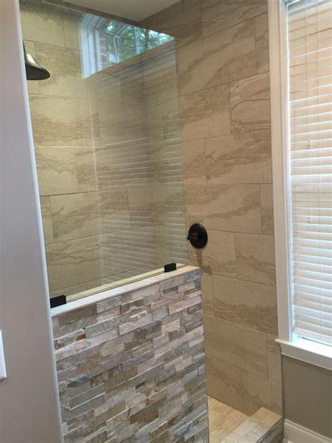 bathroom shower doors ideas 17 best ideas about shower no doors on pinterest