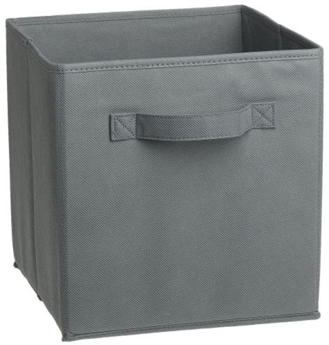 Fabric Drawer Storage by Closetmaid 58657 Cubeicals Fabric Drawer Gray