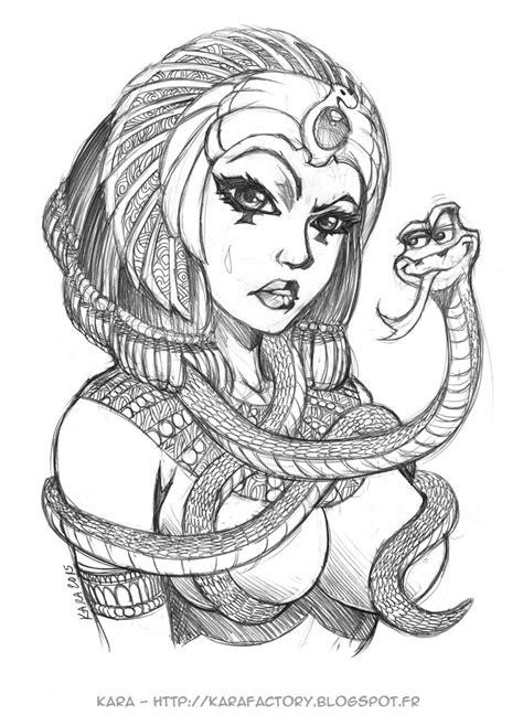 quick sketch cleopatra 40mn by karafactory on deviantart