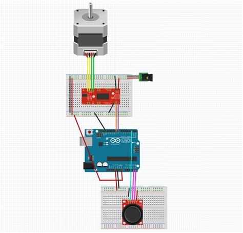 arduino code to control stepper motor arduino stepper code joystick photo cs