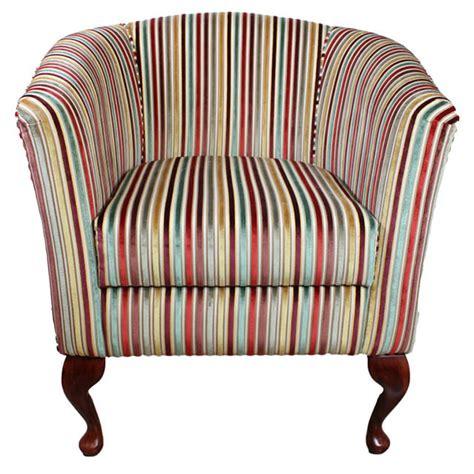 tub chair armchair in a cristina maronne multi colour