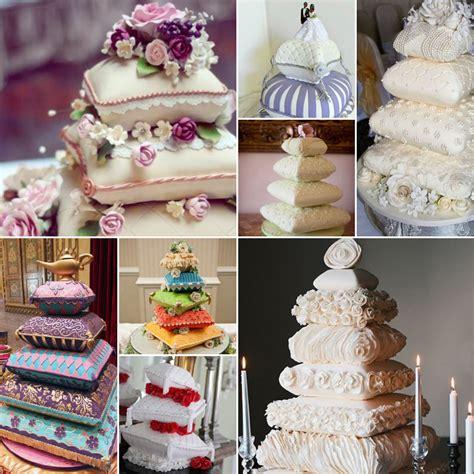 Wedding Cake Pillow by Pillow Wedding Cakes
