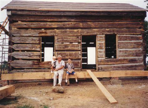 Log Cabin Restoration by Log Cabin Restoration Big Black Creek Historical Association Log Cabin Log Cabin Restoration