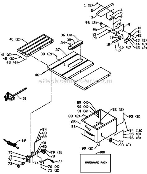 delta 36 675 parts list and diagram type 1