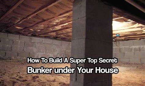 how to build a bunker in your backyard how to build a super top secret bunker under your house