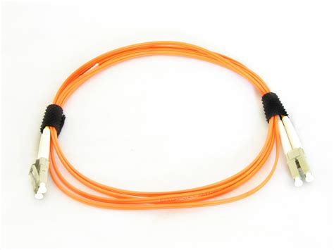 Fiber Patch Cord Multimode Om2 5 Meter Lc Lc Upc Duplex lc lc fiber patch cable multimode 62 5 125 om1 duplex