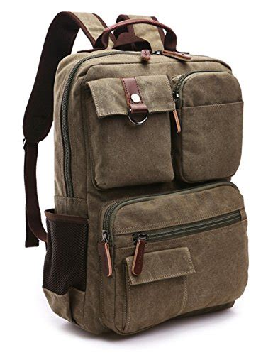 Bp444 Tas Punggung Ransel Backpack aidonger vintage canvas school backpack laptop backpack army green canvas backpack store