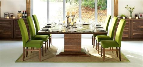 8 seat table dining table and 8 chairs set 8 seat dining