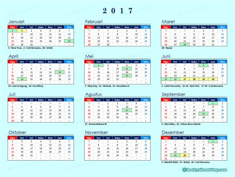 printable calendar 2017 indonesia kalender 2017 printable 2018 calendar free download usa
