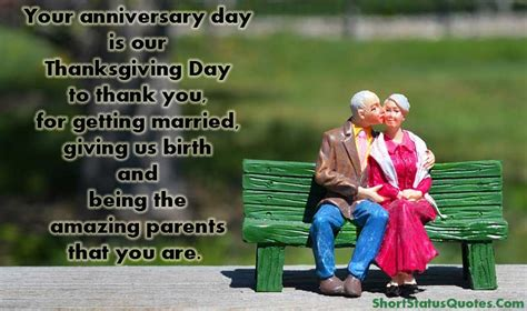 Wedding Anniversary Quotes For Status by Anniversary Status For And Parents Anniversary