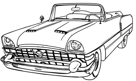classic cars coloring pages for adults classic packard adult coloring pages pinterest adult