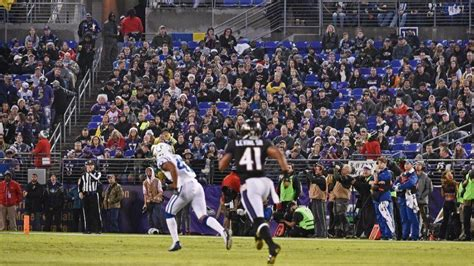 not a fan week 1 ravens were never going to win all their fans
