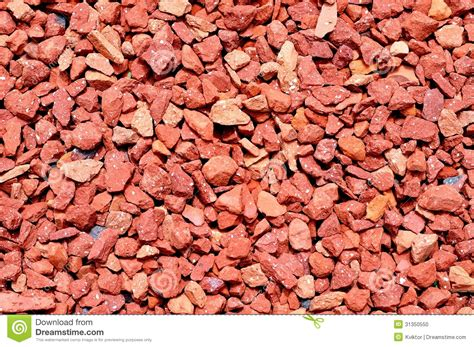 ghiaia rossa texture de cailloux photo stock image 31350550
