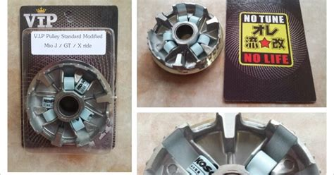 Pulley Mio Gt rumah roller atau pulley vip racing standard modified