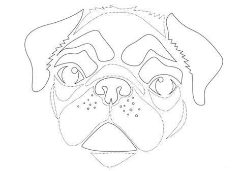 pug pumpkin stencil go with these animal pumpkin carving stencils
