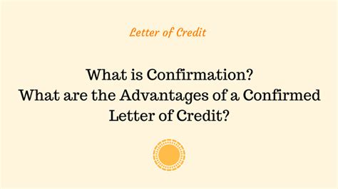 Letter Of Credit Without Confirmation advancedontrade export import customs 2018