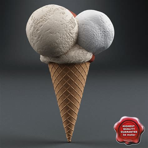 cinema 4d ice cream modeling tutorial with displacement ice cream v7 3d 3ds