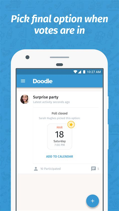 doodle scheduler android doodle easy scheduling android apps on play