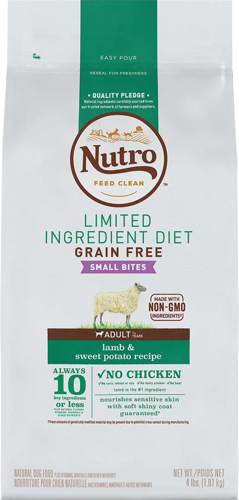 limited ingredient food nutro limited ingredient diet grain free small bites sweet potato recipe