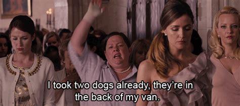 bridesmaids puppy bridesmaids