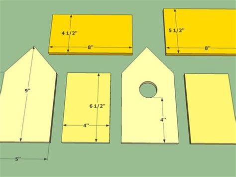 Color Ffcc00 Design Collection Mexzhouse Com Bird House Plans For Robins