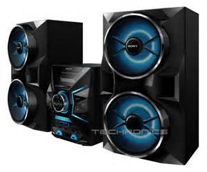 sony home audio system sony lbtgpx77 1800w home bluetooth nfc sound stereo