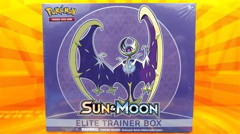 Elite Trainer Lunala cards lunala sun moon elite trainer
